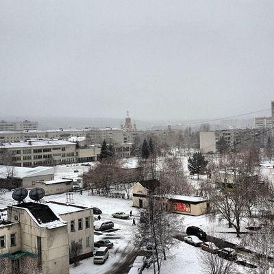 Реально зима