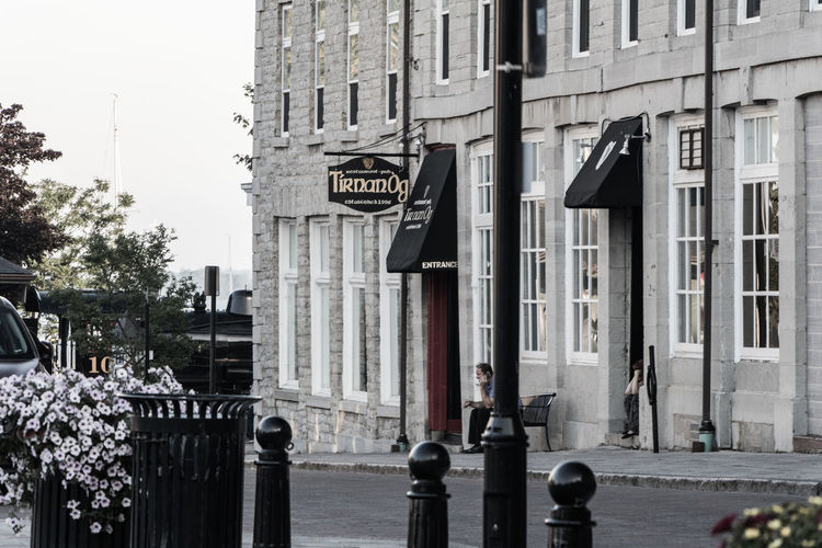 Kingston. The city that was first founded in 1673. Instrumental in our early Canadian history from the War of 1812, to Confederation. Adult Adults Only Architecture Building Exterior Built Structure City Day One Man Only One Person Outdoors People Road Sign Street