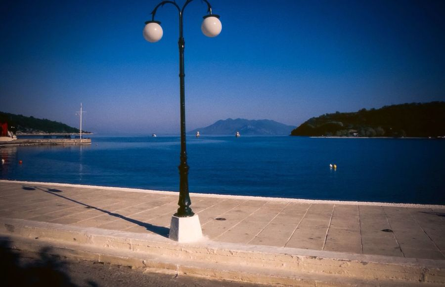Summer Memories 🌄 Greece Sea Summer Views Nafplion Lights Street Lights Waterfront Landscape_Collection Landscape_photography Urban Exploration Fine Art Photography Connected By Travel