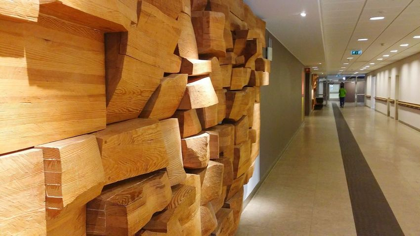 Wall Art Wood Hospital Wall Decor Corridor Wood Art ArtWork Artistic