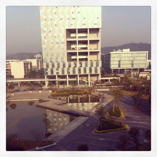 GM,my campus! Sziit sunny Shenzhen
