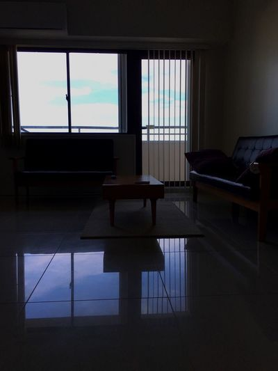 グアムにて Reflection Pia Marine Hotel & Condominium EyeEm Selects Window Indoors  Chair Table Desk Home Interior An Eye For Travel