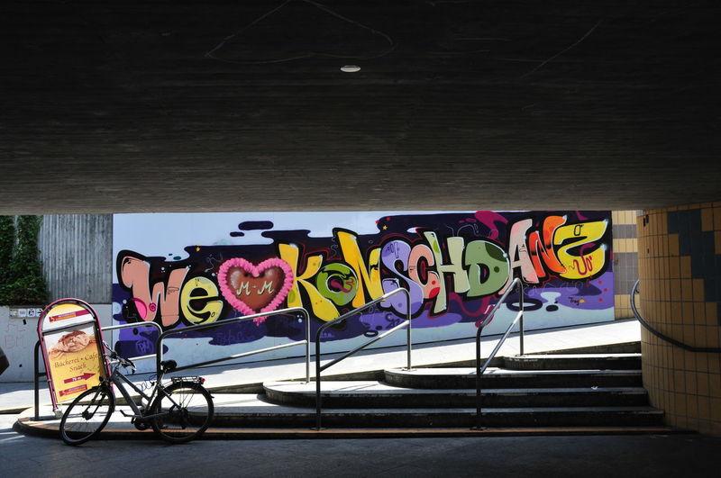 graffiti1 Colors Day Graffiti Multi Colored No People Outdoors Street Art We Love Konstanz