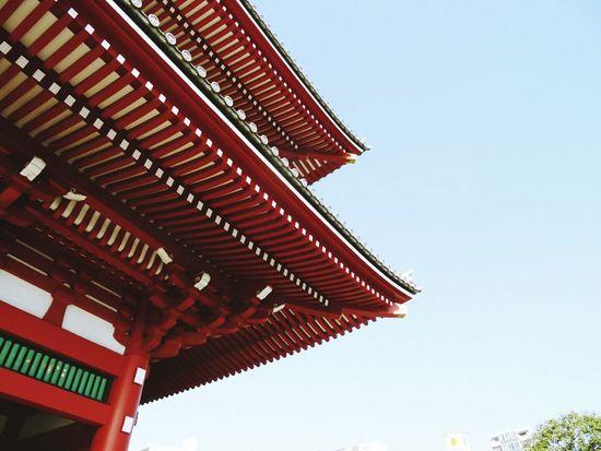 東京 日本 浅草(asakusa) Temple Tokyo Holiday Japanese Temple Look Up Japan Eyeemgallery
