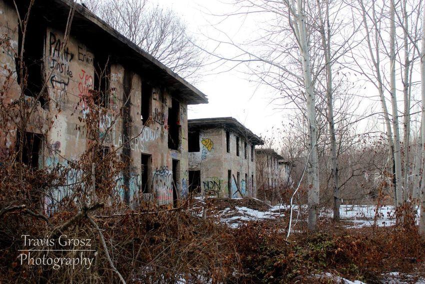 My Favorite Place Abandoned Concrete Serene Built Structure Building Exterior Graffiti AtPeace