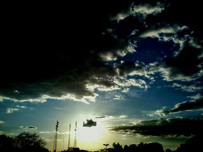 Por Do Sol A Vida Por Ai Tudo O Que Voce Quiser Ser. Efeito Demais First Eyeem Photo