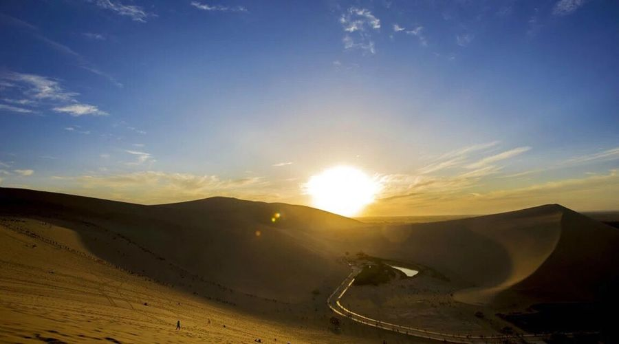 The Journey Is The Destination Dunhuang China