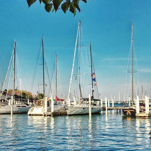 Chicago Lakemichigan Monroe Harbor Sailboats EyeEm Gallery IPhoneography Hdrphotography Eyeemfirstphoto Eyeemurban Amateurphotographer  EyeEm Best Shots Urban Landscape Eyeemgetty
