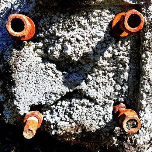 Day No People Sunlight Outdoors Czech Republic Rust Screw Pattern Light And Shadow Technology Ugly In Nature