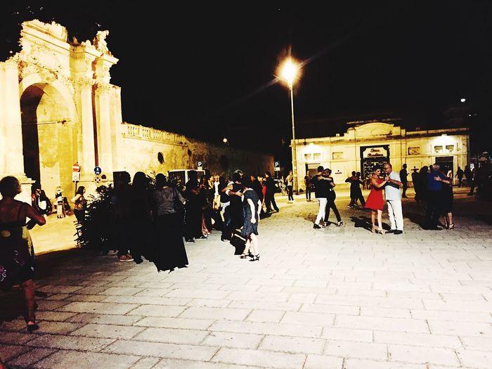 Milonga Tango Argentino Lecce - Italia Lecce Lecce Night Ballare Per Strada Milonga Street Tango Streetdancing Tango Life Tango Life Tango Puglia Tango Lecce Tango Argentino Tangueros Milongueros Milonga