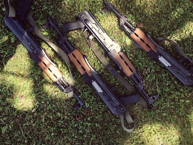 Gun Kalashnikov Excercise Army Soldier Drill Weapon Make Peace Not War ✌