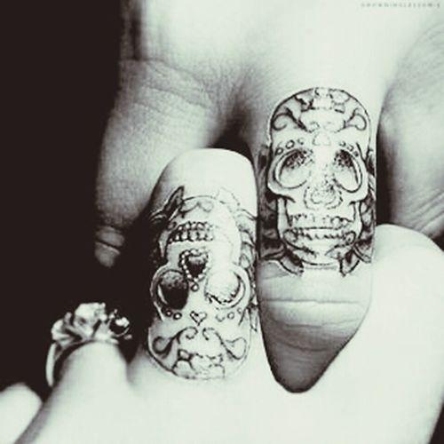 Hasta la muerte te llevo en mi. Friends tattoo Fingers Friendship