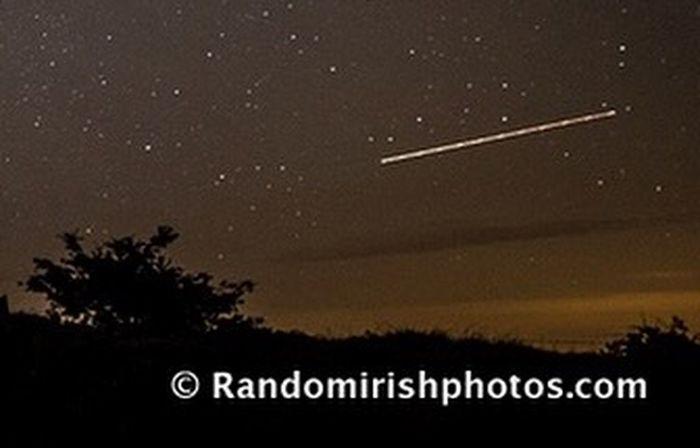 Perseid Shootingstar Meteor Discover Ireland