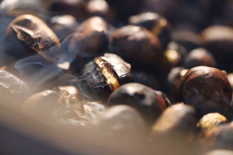 Chessnut season in full swing Food Stand Food Chessnut Selective Focus Close-up Food And Drink No People Food Freshness Indoors  Day Healthy Eating Still Life Large Group Of Objects Abundance Wellbeing Full Frame Backgrounds Temptation High Angle View Nature Sunlight