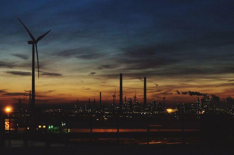 Port Hafen Rotterdam Fährhafen Ferryport Night Nightphotography Night Photography Nachtfotografie Nachtaufnahme