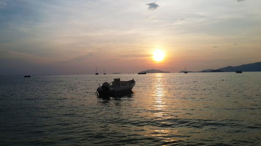 Sunset at Koh-lipe Travelling Relaxing Hello World Nature Photography Sunset_collection