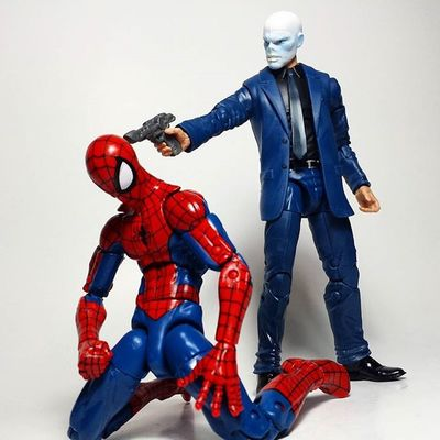 Chameleon Spiderman Peterparker Amazingspiderman Marvel Marvellegends Marvelcomics Toys Toyphotography Toypizza Toysarehellasick Toycollector Toycommunity Toycollection Thefigureverse