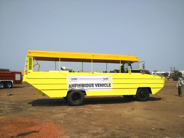 Amphibious Vehicle kept for display at Defexpo India 2016 in Goa. Amphibious Vehicle Amphibious Boat Vehicle Boat Automobile Defence India Security Defexpogoa2016 Defexpo Defence Expo Defence Exposition Indian Army Land And Water Goa Goa India