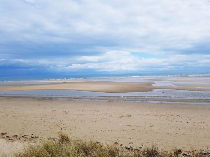 Horizon Over Water Beach Photography Seascape Seaside Sea And Sky Sand Dune Water Low Tide Sea Beach Wave Marram Grass Sand Pastel Colored