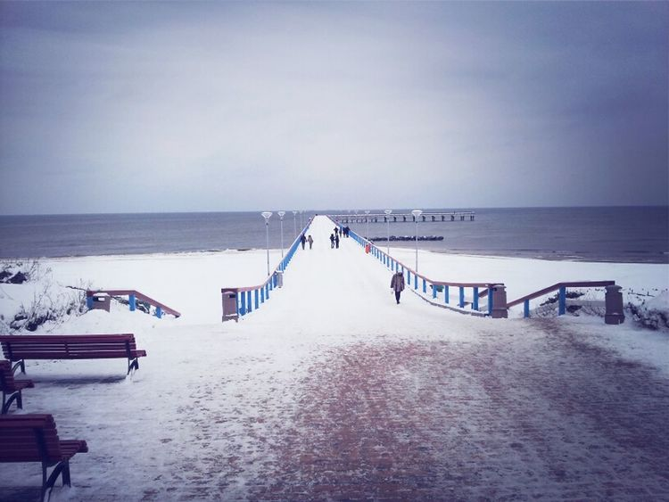 Sea Beach Water Nature Winter Snow Cold Days Life Is A Beach Baltic Sea