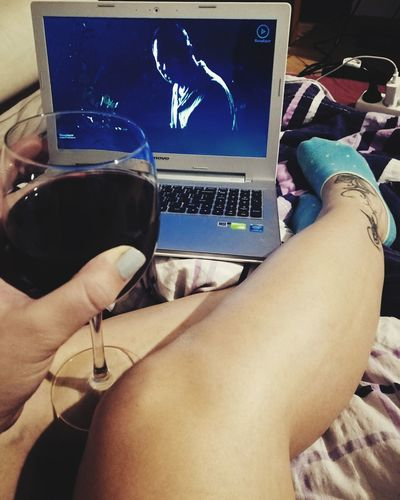 Computer People One Person Internet Selfie✌ Poland Enjoying Life Lifestyles Relaxation Legselfie Relax Legs:) Wine Glass Wine Human Foot Redwine Socks ^_^ SOCKS!!! Tattoo Girl