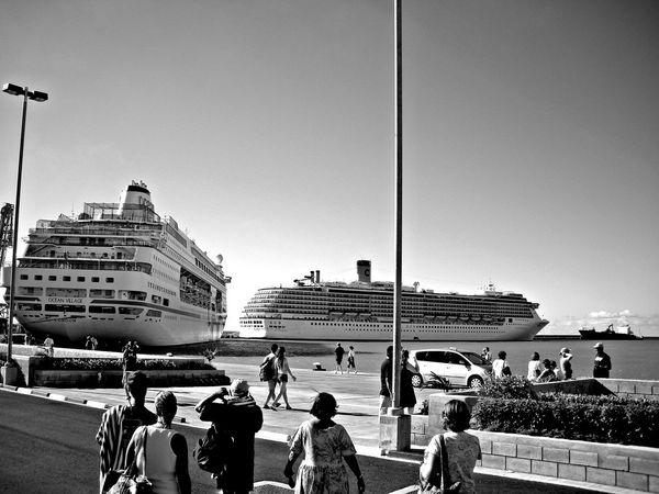 Followfriday Luxury Mode Of Transport Passenger Craft Ship The Traveler - 2015 EyeEm Awards Tourism Transportation Travel Travelling B W_collection B_w Black & White Black And White Seen The Sights B&w Street Photography On A Boat Streetphoto_bw Transportation The Tourist EyeEm Best Shots Visual Trends SS16 - Lifestyle x Travel Fresh 3 Been There. Done That.
