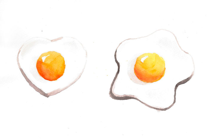 my artwork egg fried water color technic Art ArtWork Bush Color Color Art Color Paint Egg Egg Fried Food My Artwork Paint Paint Art Technic Water Color Water Color Art White Background Work