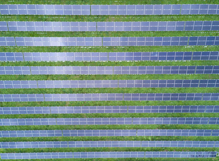 aerial view of solar panels at a solar power plant Plant Power Plant Abstract Aerial View Architecture Backgrounds Close-up Energy Plant Full Frame Green Color In A Row Large Group Of Objects No People Pattern Renewable Energy Repetition Solar Panels Solar Power Station Sustainable Energy Textured