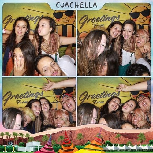 Thanks Coachella, met some awesome people last night! Amigos CoachellaPhotoBooth Coachella CoachellaVide IndioCa DesertSun Onedeeper PalmTrees