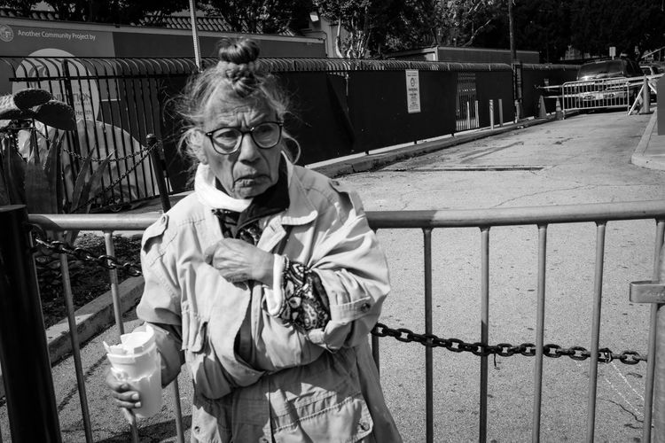Year Of The Pig Lunar New Year Photo444 Fujix100f Fujifilm_xseries Fujifilm Blackandwhite Black And White Streetphotography Light And Shadow Real People Glasses One Person Eyeglasses  Lifestyles Waist Up