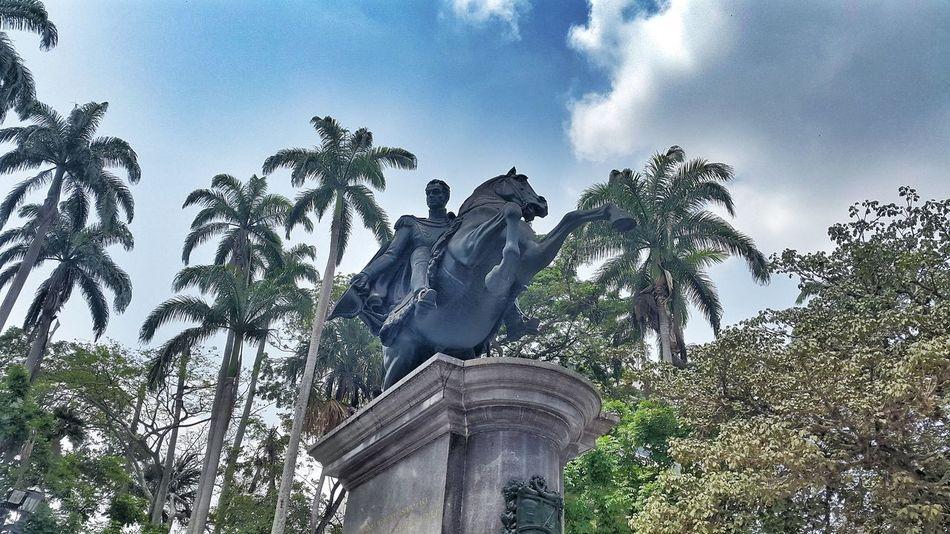 Plaza Bolivar Barquisimeto Lara Venezuela Statue Equestrian Statue