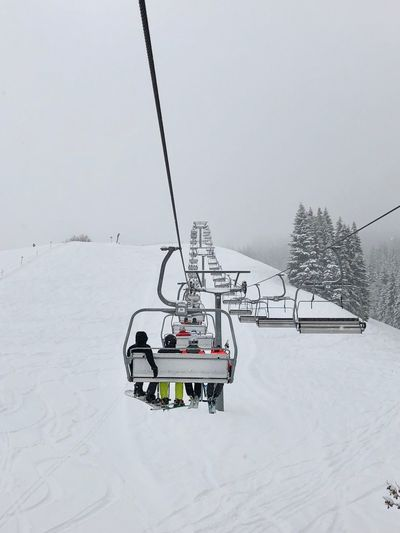 Ski Snow Cold Temperature Winter Transportation Mode Of Transportation Ski Lift Nature Beauty In Nature White Color Scenics - Nature Outdoors Cable Car Winter Travel Environment Beauty In Nature Extreme Weather Mountain Frozen Winter Sport
