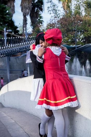 By Azager Lasstroth 18-55mm Cards Cosplay Cosplayer Day Kiki Cyan Outdoors Portrait Portrait Of Womans Sakura Card Captor Saori Zato So Sony A37 Tomoyo