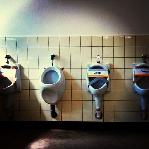 Free toilet - luck!!!