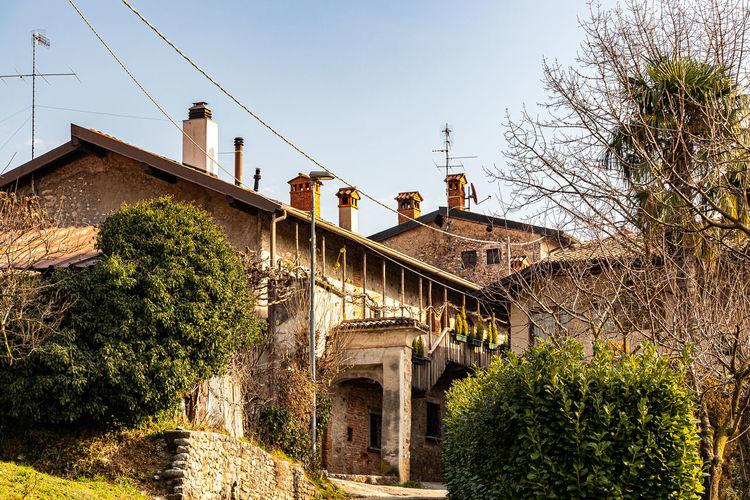 Rustic italian village