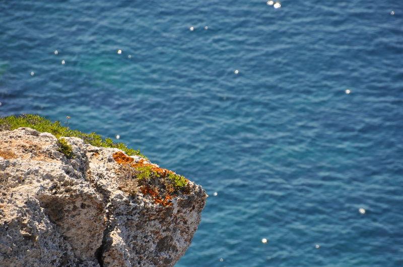 A diving rock
