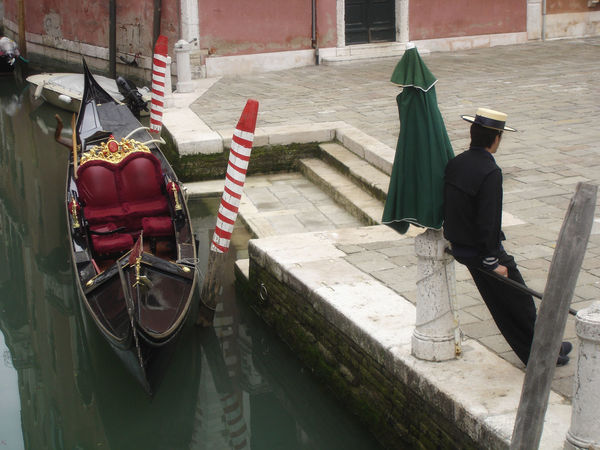 Architecture Built Structure Canal Casual Clothing City City Life Day Gondola Leisure Activity Lifestyles Mode Of Transport Outdoors The Way Forward Venice Canals Venice, Italy Waiting Waiting For Clients Waiting In Line
