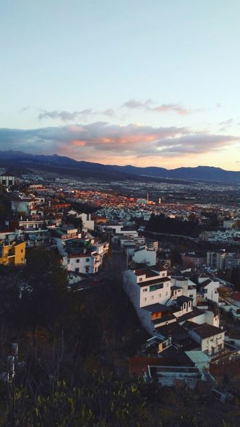 Carmen De Los Martires Granada Cityscape Houses Sunset Outdoors Cityscape Colorful Naturelovers Wonderful View Mountains Red Sky Cityscapes Taking Photos Granada, Spain Residential Structure Sunset Colors Hanging Out Landscape
