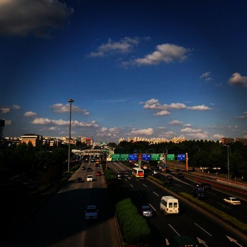 I am back …Lovely Sun Day Sunny Clouds Shanghai Lo_ fi Amazing Afternoon