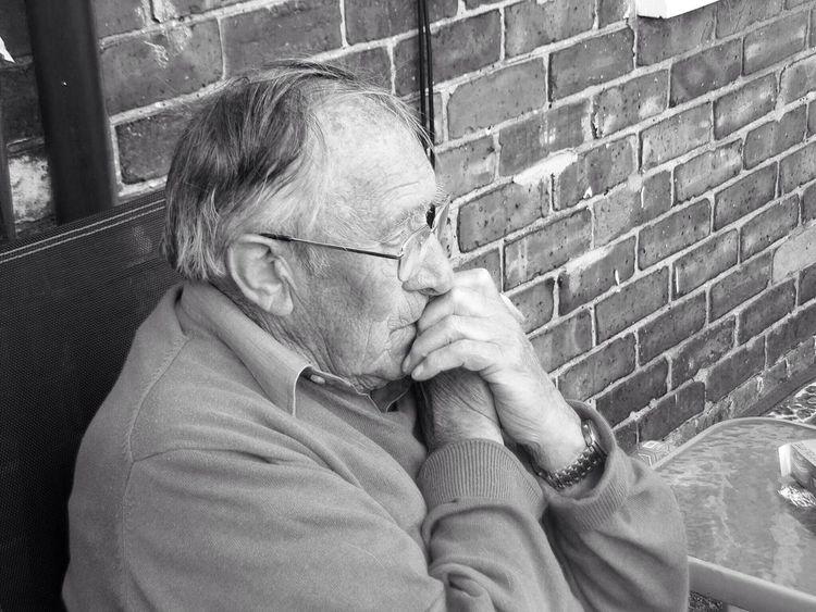 Grandad Thought Man