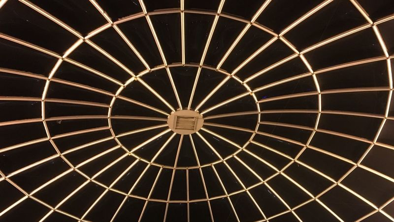Pattern Circle Ceiling Edinburgh Regimented Order
