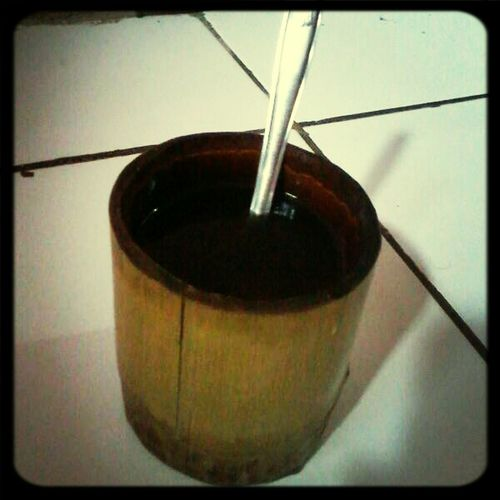 bamboo glass from baduy dalam.