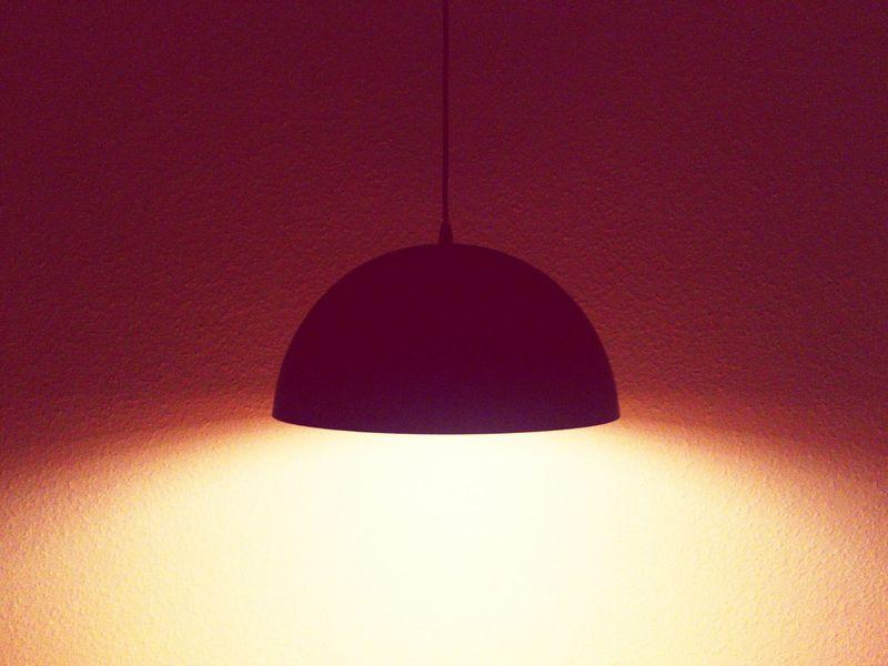 Hanging Black Color Illuminated Lamp Lamps Light And Shadow Lights Lighting Equipment Light Urban Design Interior Design Interior Decorating Pink Color Pink