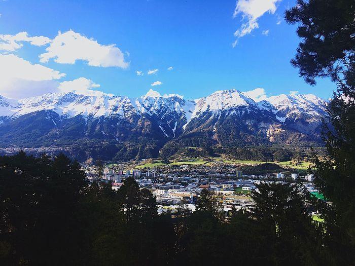 Alps Sky Water
