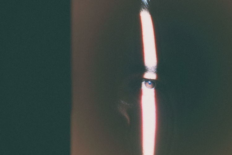 Selfie Classic Close-up Dark Darkness Darkness And Light Day Eye Eyes Light Grain Grain Is Good Human Human Body Part Human Eye Human Face Indoors  Light Leak Light Windows Looking At Camera Nature Light People Real People Selfie Young Adult