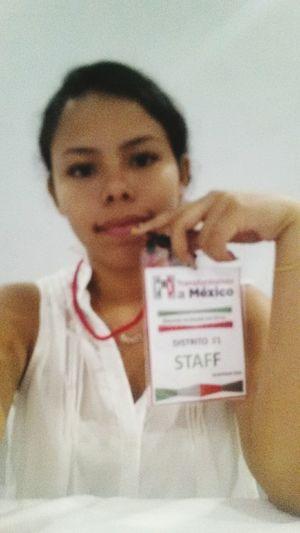 Recepcionando a los delegads de isla mujeres ;)