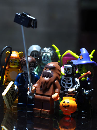 LEGO Lego Minifigures Lego Minifigures Series 14 Legophotography Monster Monsters Series 14 Wefie Showcase July