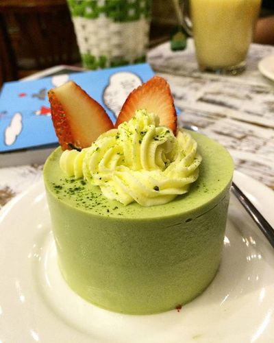 Tiembanhnoicon Moussematcha Delicious Loveit Foodyhanoi Vietnam Lovecake Sonice Supercute 👍👍👍
