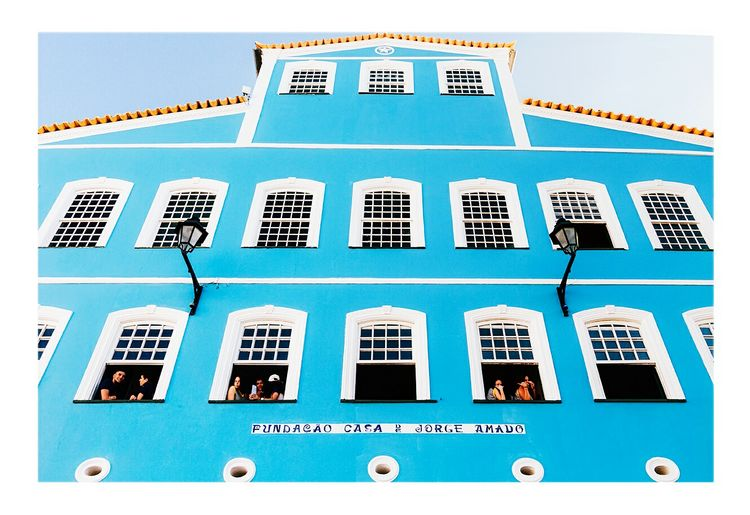 Brazil Salvador Bahia Pelourinho Jorge Amado Architecture Editorial  Travel Destinations Streetphotography People Windows