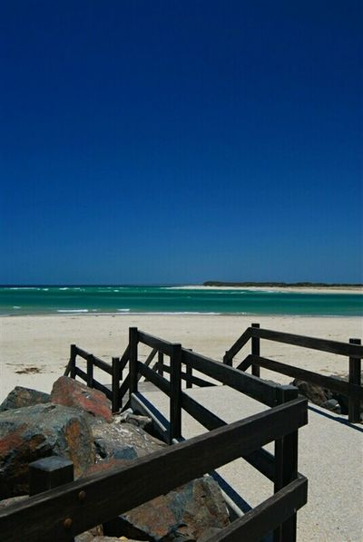 Sunshine Coast Ocean View Beautiful Sky Colorful Sea Caloundra Walkway Blue Sky On The Beach Beachphotography Beach Walk